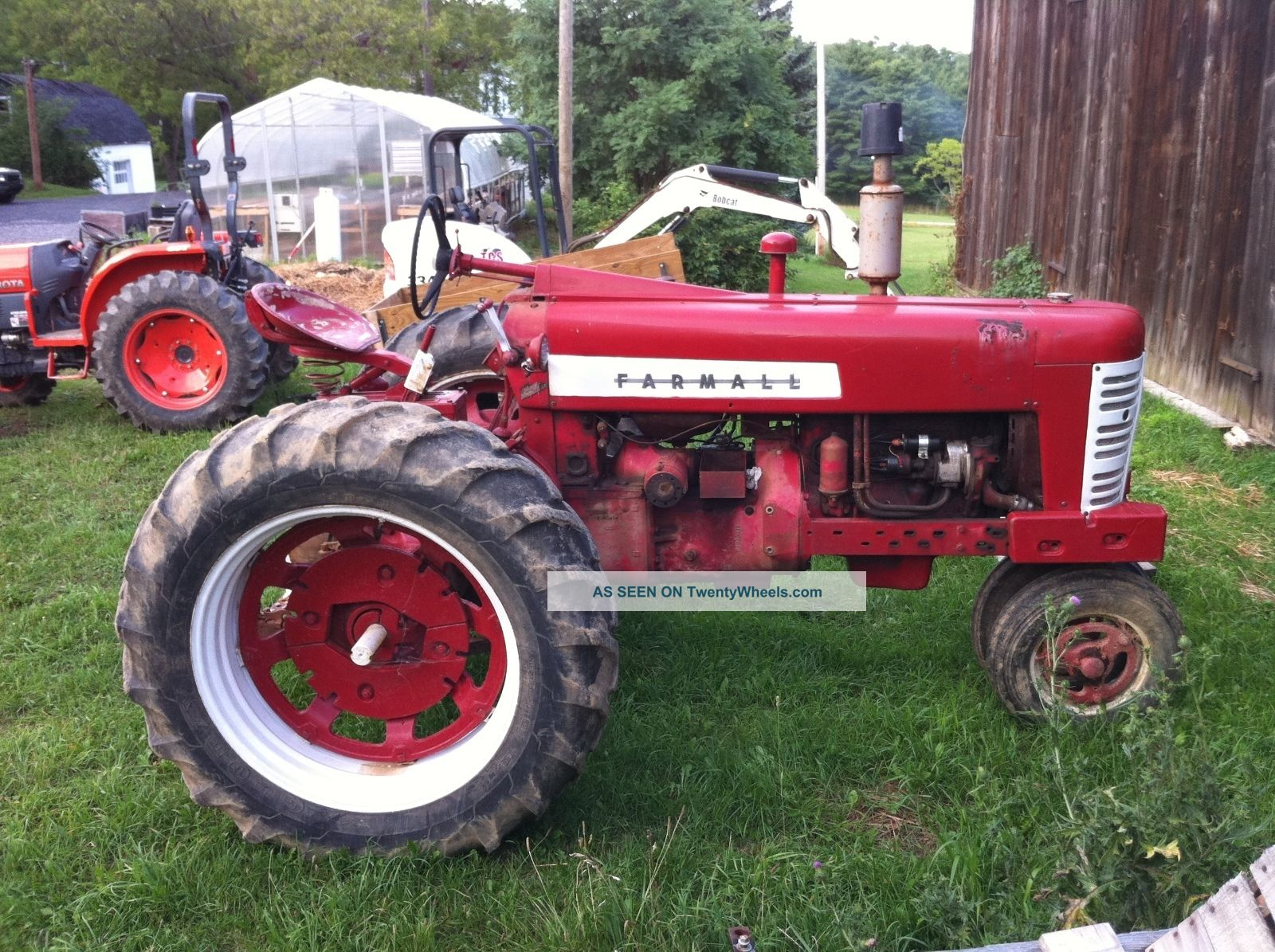 1958 International Tractor : Farmall tractors bing images