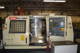 ' 97 Yang Ml - 28a Under Power With All Yang & Fanuc Manuals photo