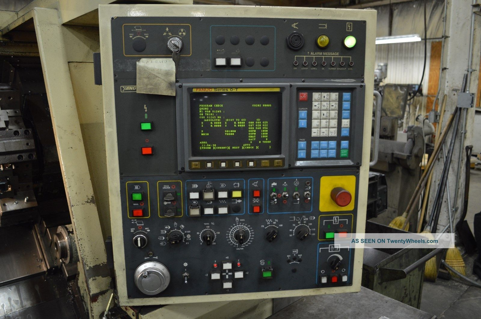 97 Yang Ml - 28a Under Power With All Yang & Fanuc Manuals
