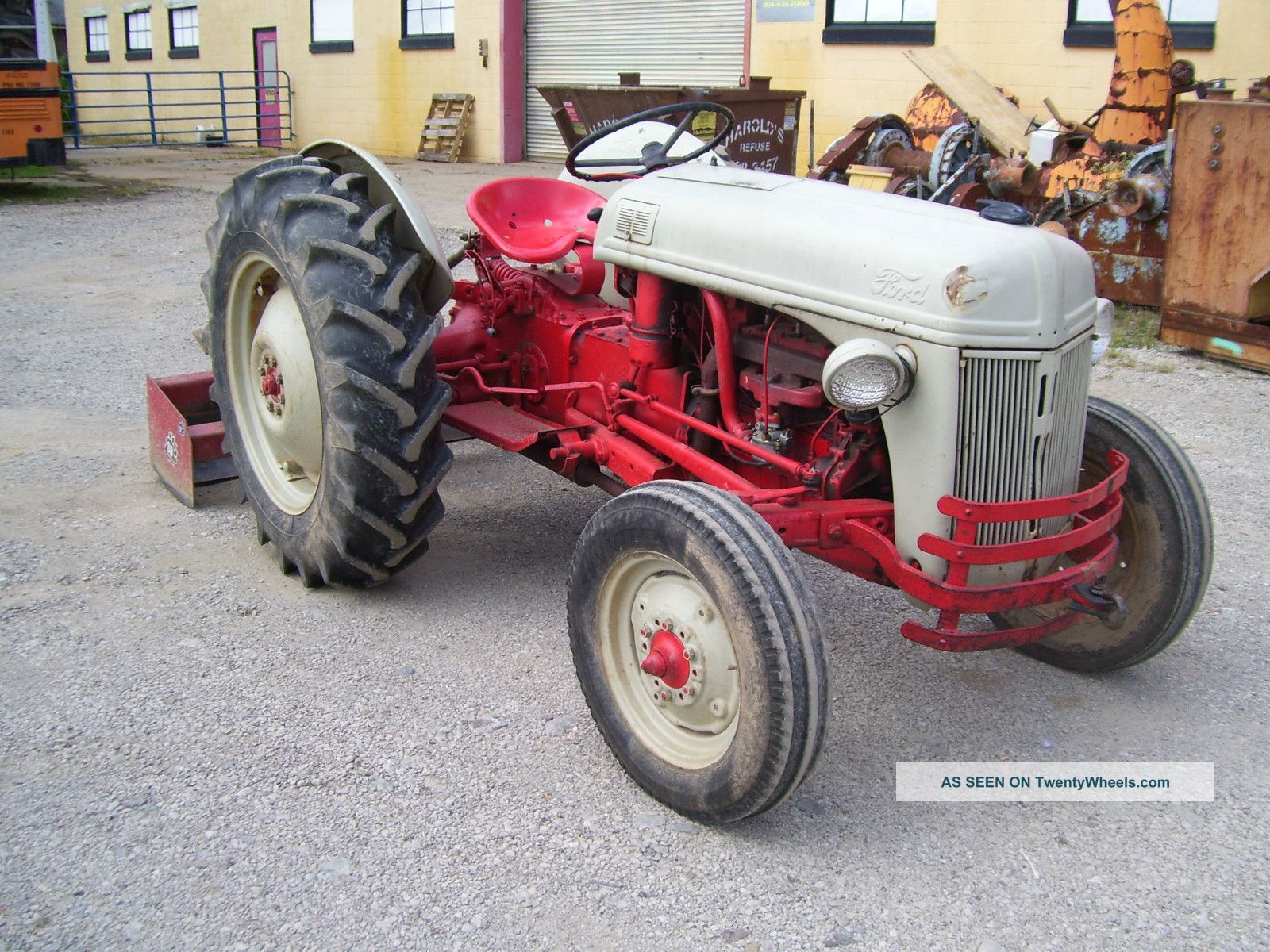 8n Ford Tractors : N ford farm tractor