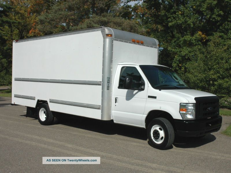 2008 ford e350 duty box truck. Black Bedroom Furniture Sets. Home Design Ideas