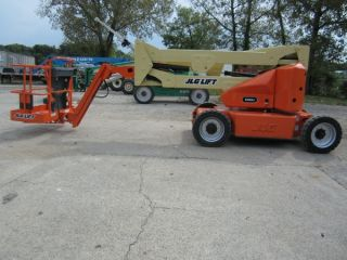 Jlg E450ajp Aerial Manlift Articulating Boom Lift Man Boomlift Jib Arm photo