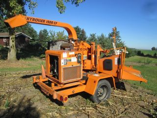 2003 Wood Chuck Wood Chipper 1200 Hyroller 80 Hp Deutz Diesel 12