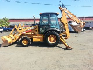 2005 Case 580 M Series 2 Backhoe Only 4450 Hours 4x4 photo