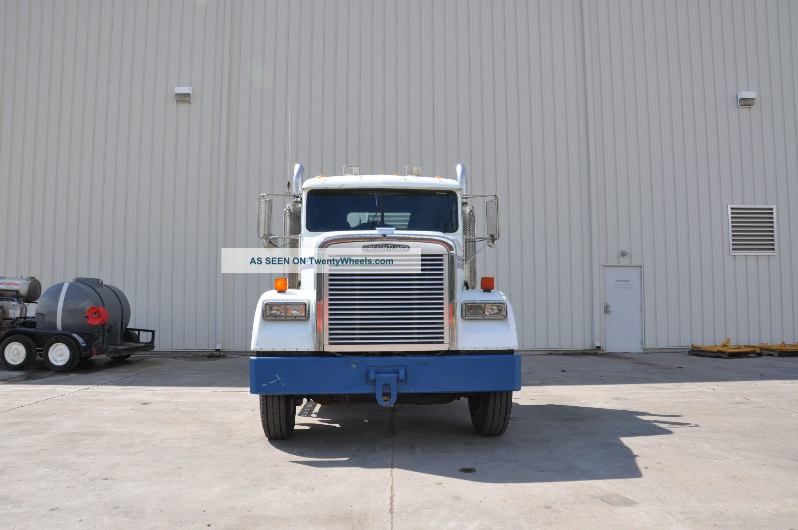 1995 Freightliner Fld120 Severe Duty Daycab Semi Trucks photo 2