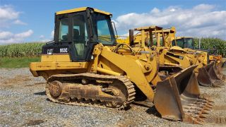 2000 Cat Caterpillar 953c Crawler Track Loader Construction Machine Bulldozer. . . photo