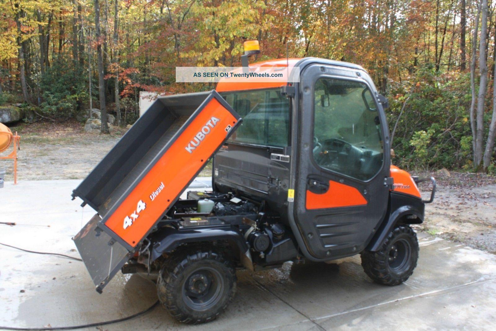 Kubota Rtv 1100 Modifications : Kubota rtv utility vehicles for sale