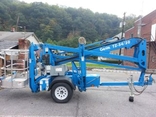 2010 Genie Tz - 34/20 Tow Behind Manlift photo