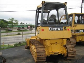 Great John Deere 450j Long Track Crawler Dozer Tractor, photo