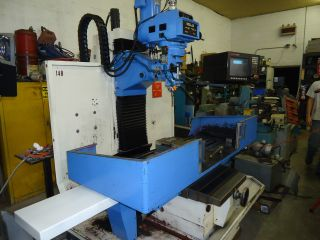 Ram Bm - 5vcnc Milling Machine Anilam 3300 Mk Control Power Draw Bar.  40 Taper photo