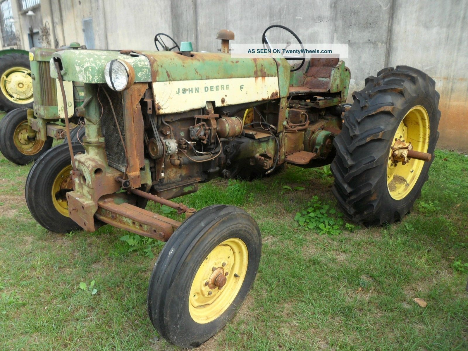 Rare John Deere Tractors : John deere tractor diesel rare