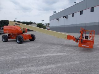 2005 Jlg 800s Aerial Manlift Boom Lift Man Boomlift Skypower 7500 Watt Generator photo