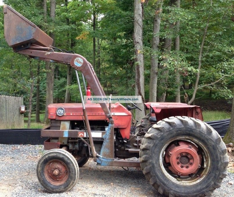 Massey Ferguson 175 Tractor Data : Massey ferguson