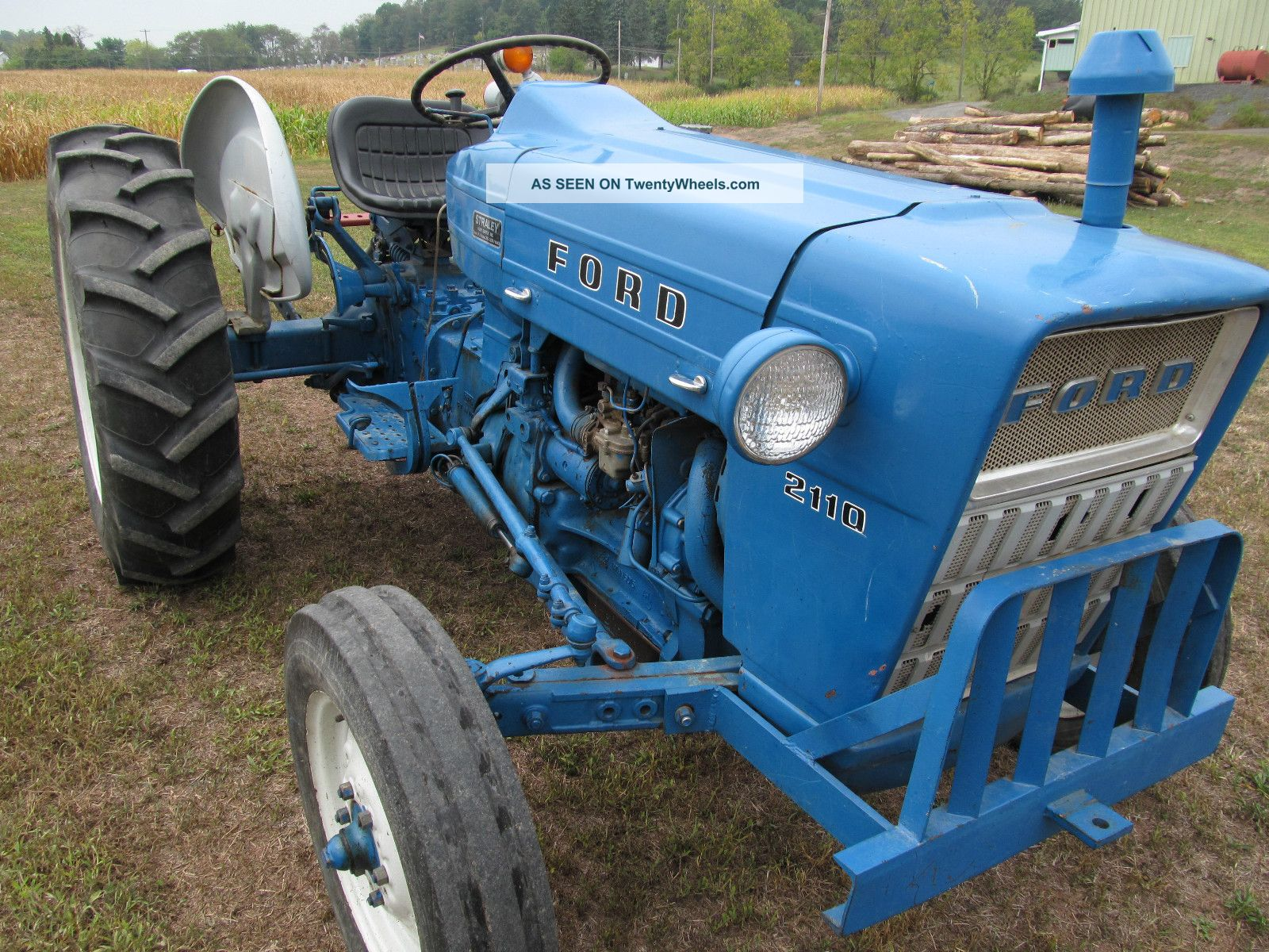 Ford 2110 Tractor : Ford industrial tractor hp pt hitch power
