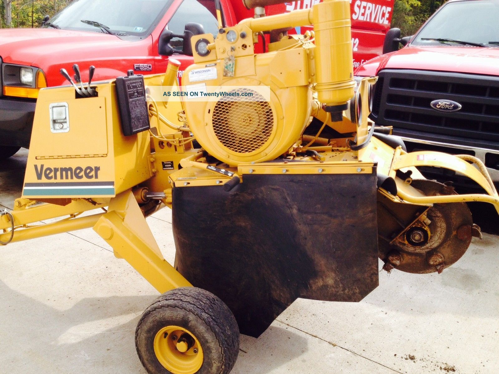 Vermeer 630b Stump Cutter/grinder Equipment photo