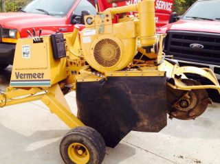Vermeer 630b Stump Cutter/grinder photo