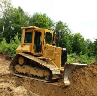 1987 Caterpillar D4h Lgp High Track Crawler Dozer photo