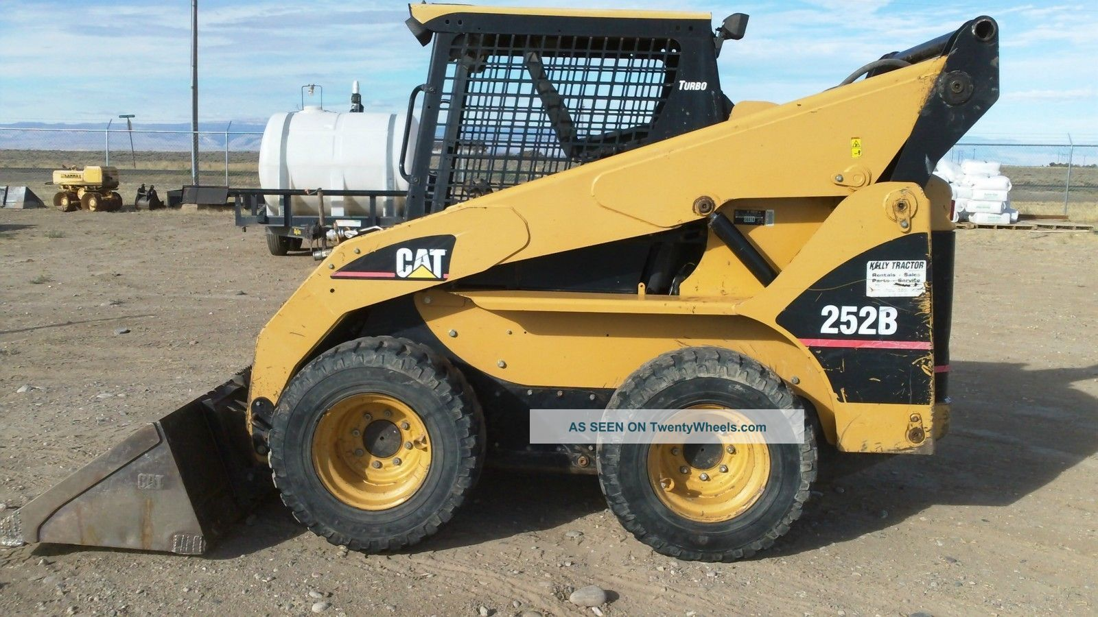 Cat 252b Skid Steer