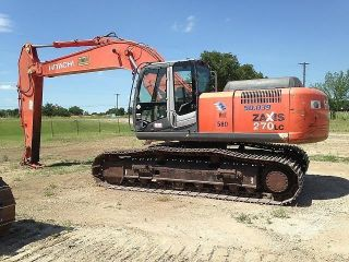 2007 Hitachi Zx270lc - 3 Hydraulic Excavator photo