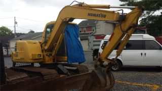 2002 Komatsu Pc60 - 7e Hydraulic Construction Excavator Backhoe Machine Cab,  Heat. photo