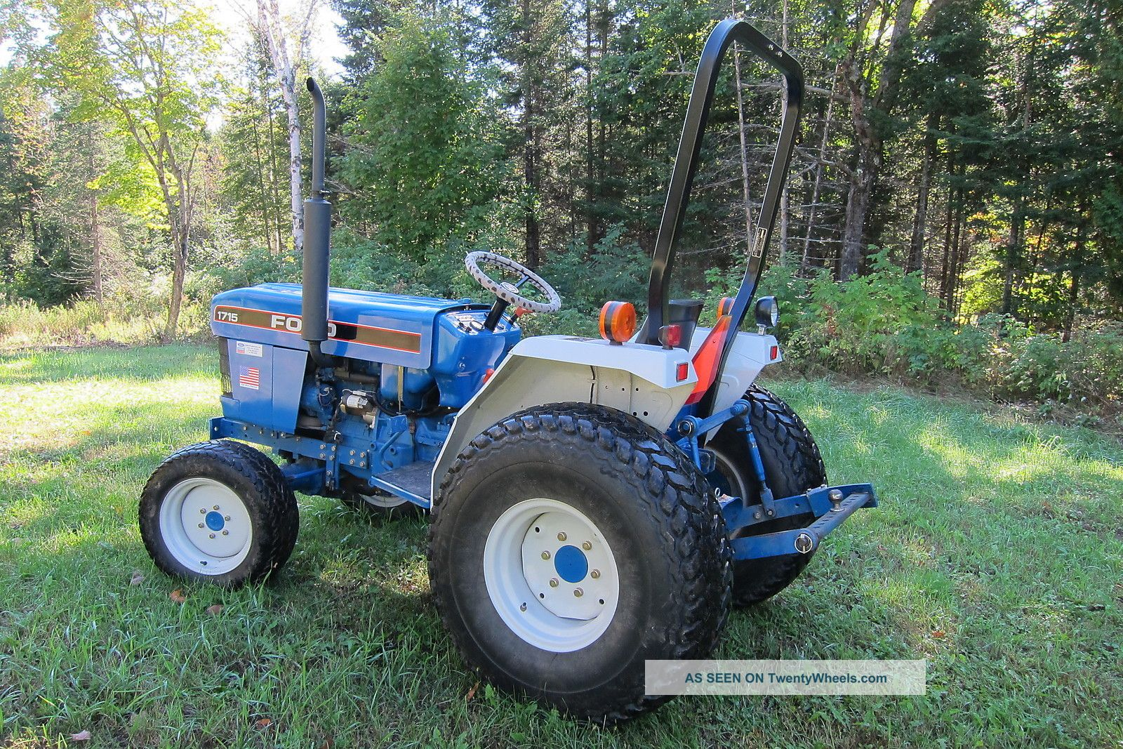 Ford Tractor Turf Tires : Ford holland diesel tractor farm garden turf