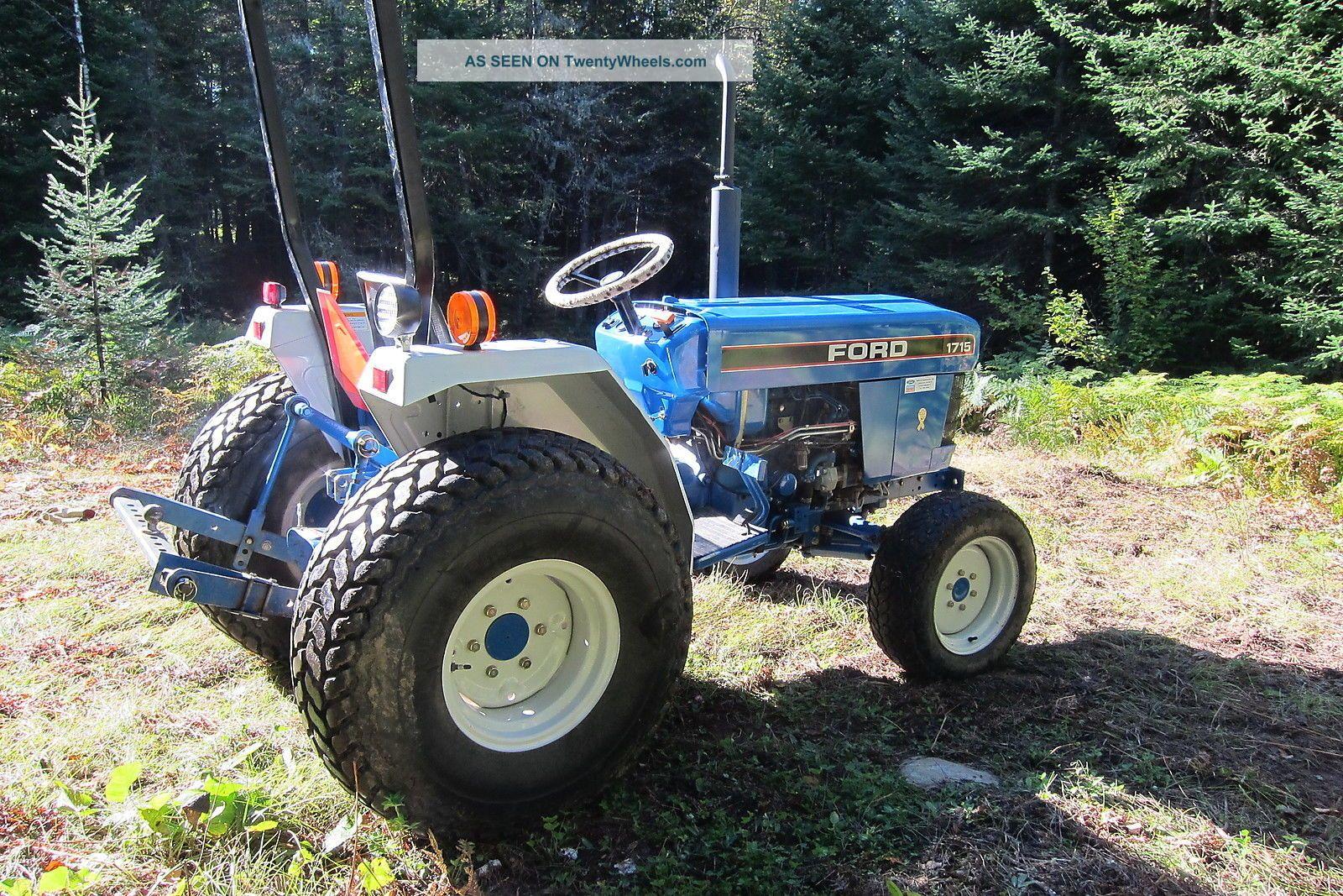 Ford Holland Diesel Tractor Farm Garden Turf Tires Utility Lgw