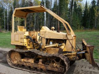 Allis Chalmers Hd4 653 Dozer Crawler Cat Bulldozer Fiat photo