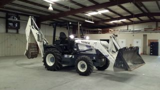 Terex Tx760b Backhoe Loader photo