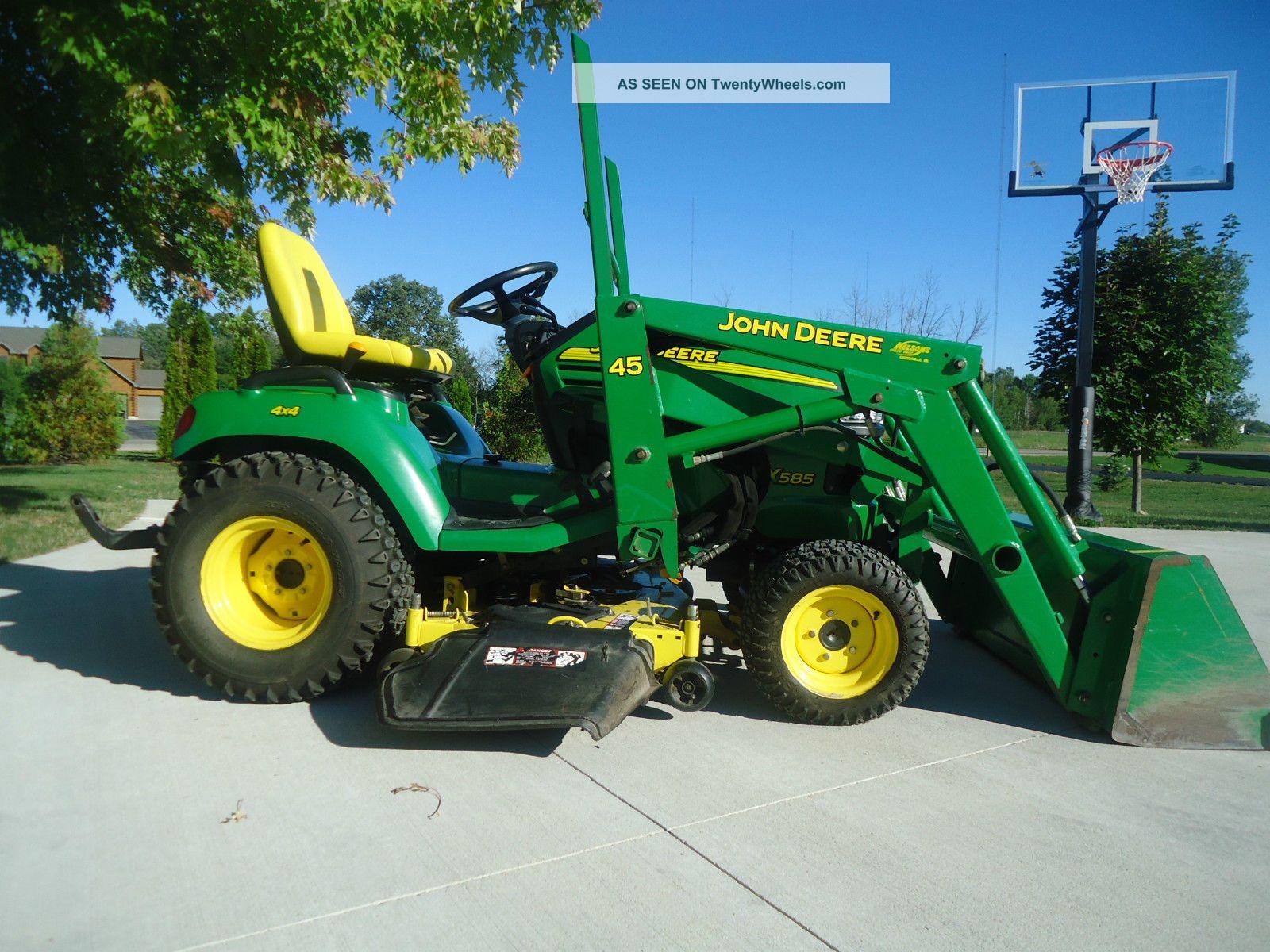 John Deere Garden Tractors 4x4 : John deere garden tractor car interior design