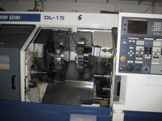 Mori - Seiki Dl - 15 Fanuc Control photo