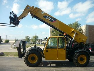 2010 Caterpillar Cat Tl1055 Reach Forklift Jlg Telehandler Full Cab Telescopic photo