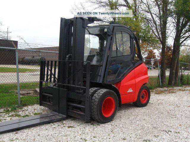 2006 Linde H50d 11000 Lb Capacity Forklift Lift Truck