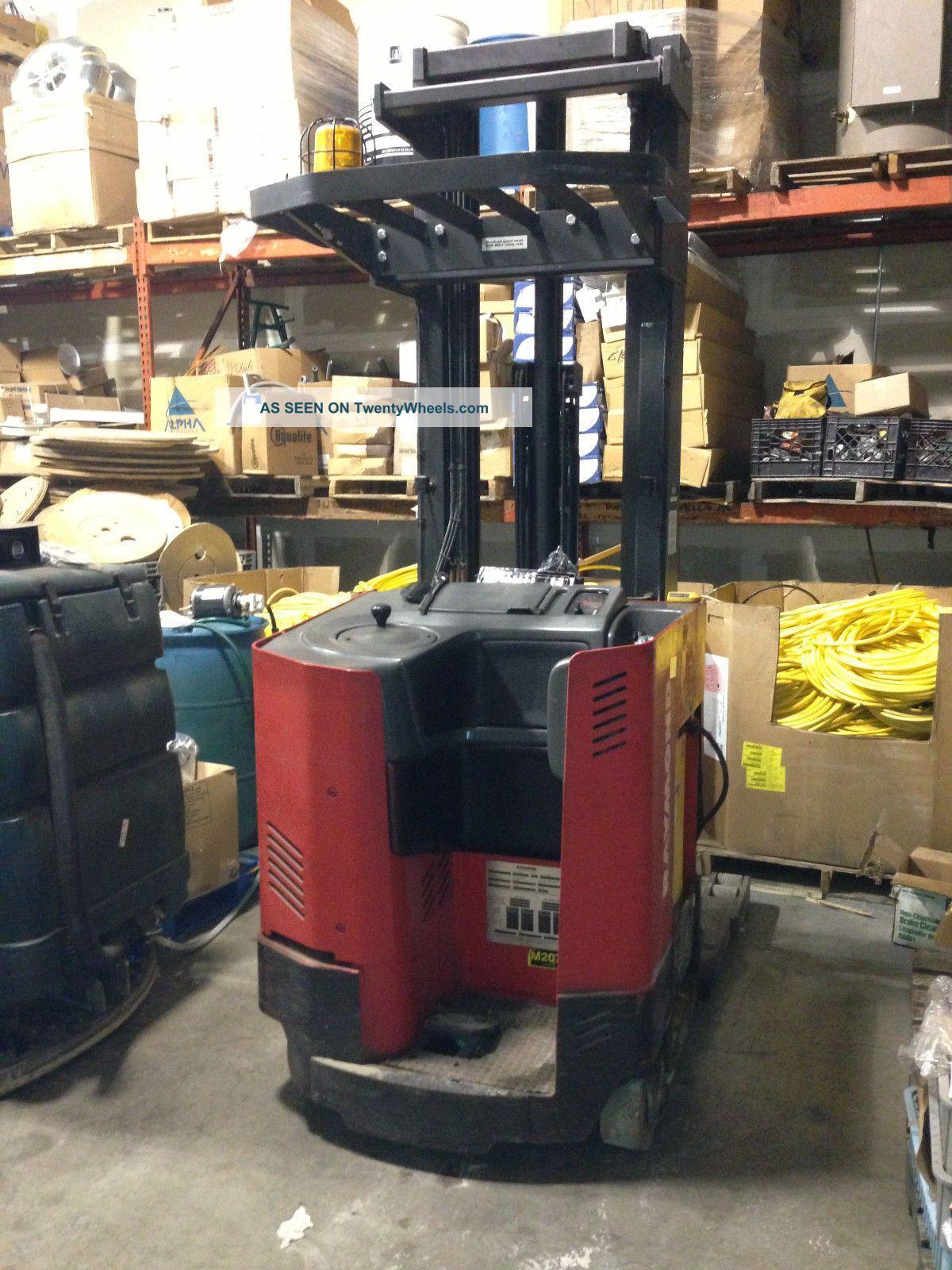 Raymond Forklift Reach Truck 4500lb 211