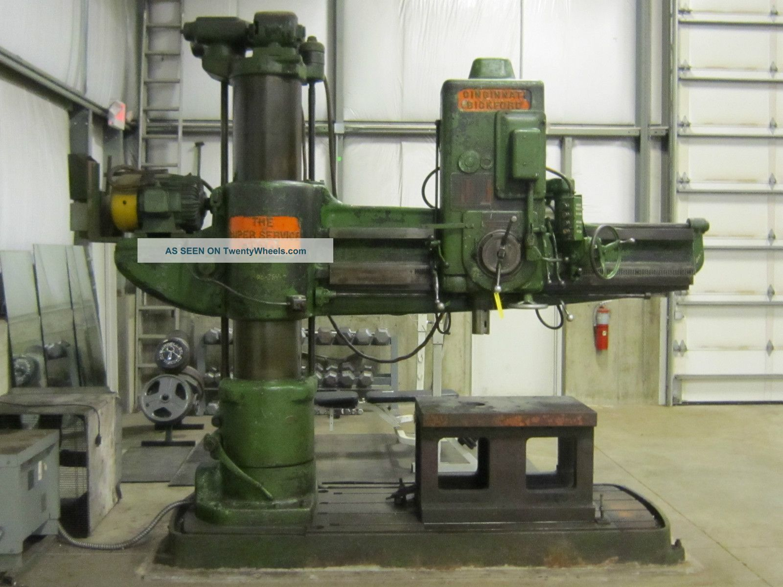 Cincinnati Bickford Radial Arm Drill Drilling & Tapping Machines photo
