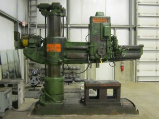 Cincinnati Bickford Radial Arm Drill photo