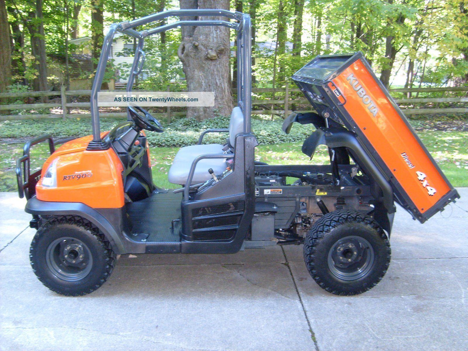Kubota Rtv900 Specs : Kubota rtv diesel