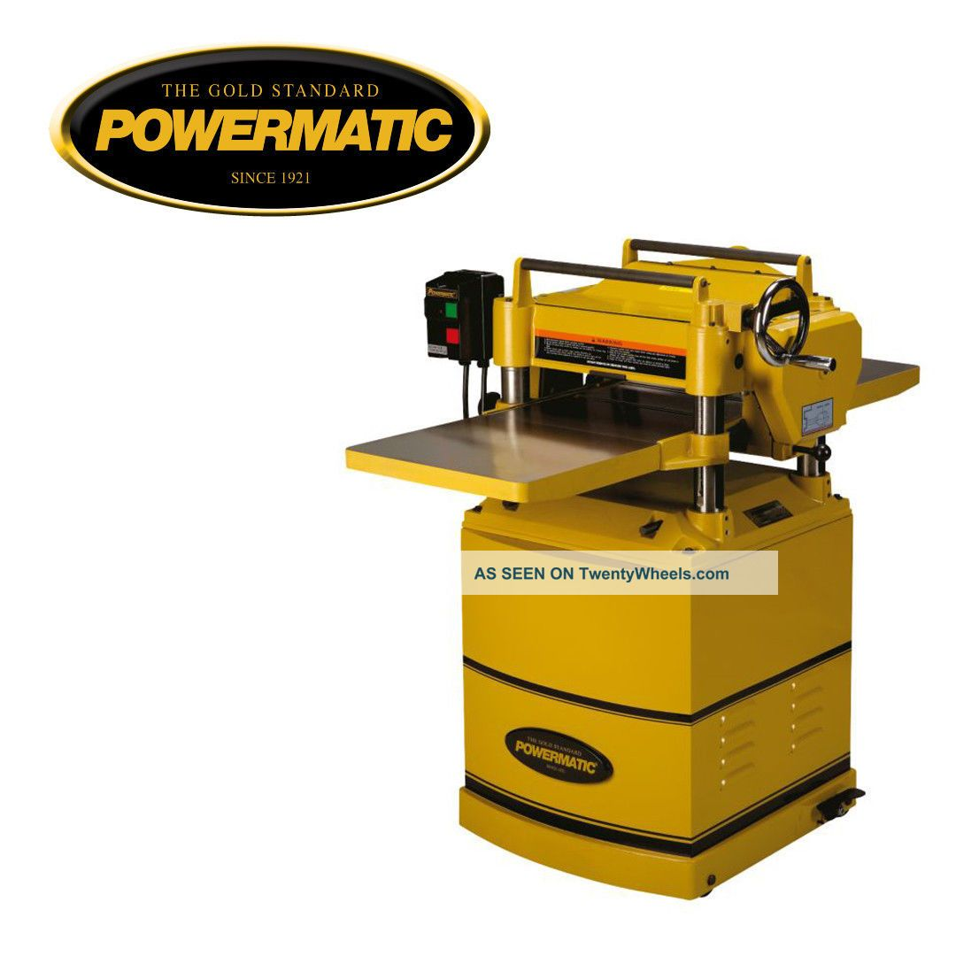 PDF DIY Powermatic 15hh Planer Download northwest fine woodworking ...