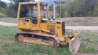 1997 John Deere 450g Iv Track Crawler Dozer Construction Machine Tractor. . . photo