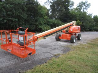 2002 Jlg 800s Aerial Manlift Boom Lift Man Boomlift Fresh Paint,  Serviced,  Ansi photo