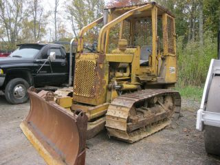 1979 Caterpillar Cat D3b Crawler Dozer Carco 28 Winch photo