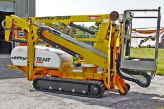Nifty Td34t 40 ' Track Boom Lift,  40 ' Work Height,  4000 Lbs,  Very Rare 2010,  One Owner photo