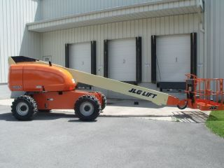 2004 Jlg 600s Aerial Manlift Boom Lift Man Boomlift Painted Ansi Inspected photo