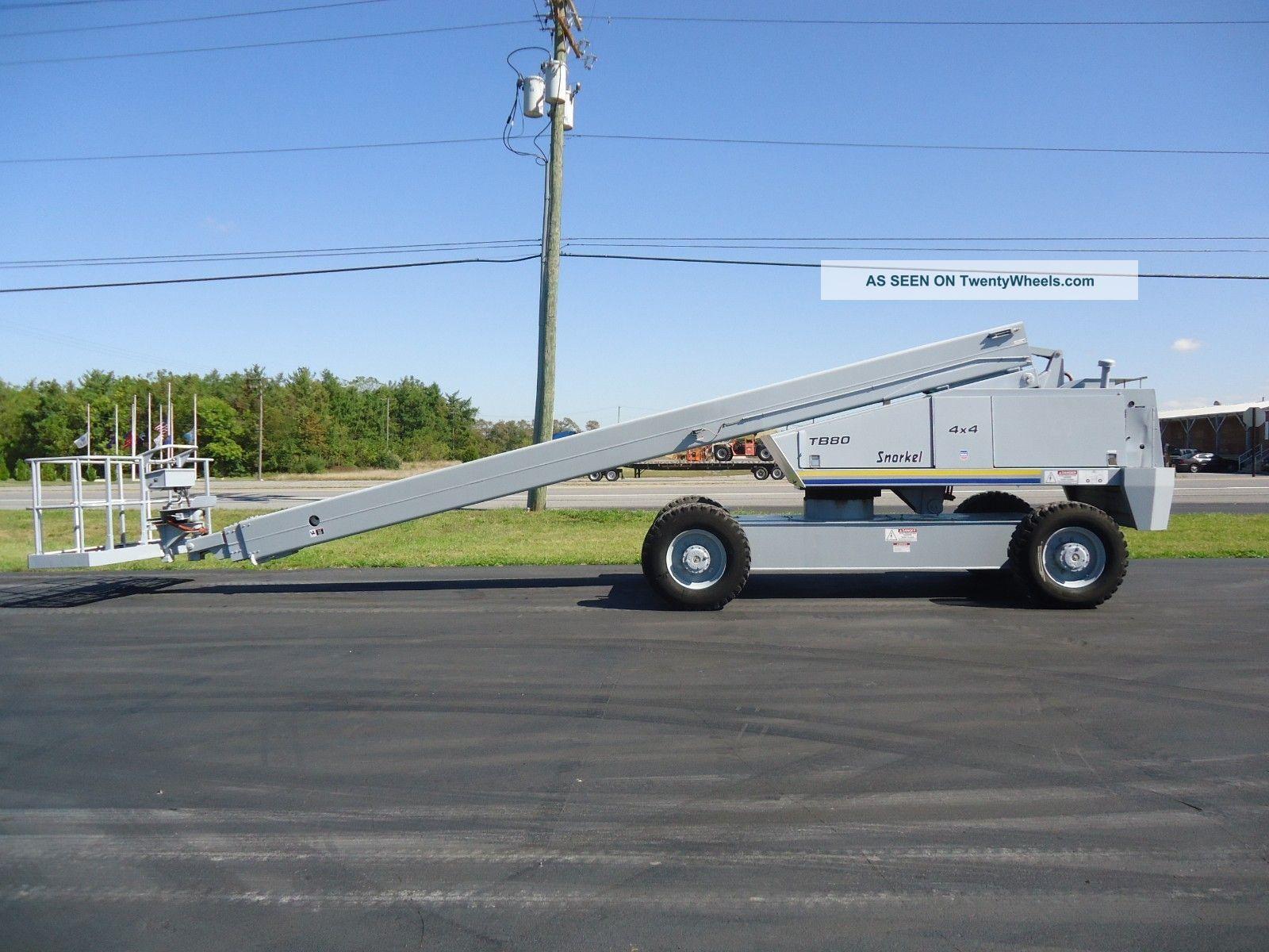 Snorkel Tba80 Boom Lift Manlift Man Aerial Boomlift Tb80 Jlg Genie Wiring Diagram