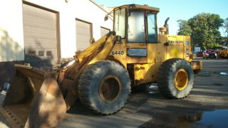 John Deere 644 Diesel Wheel Loader Runs And Drives Great Well Maintained photo