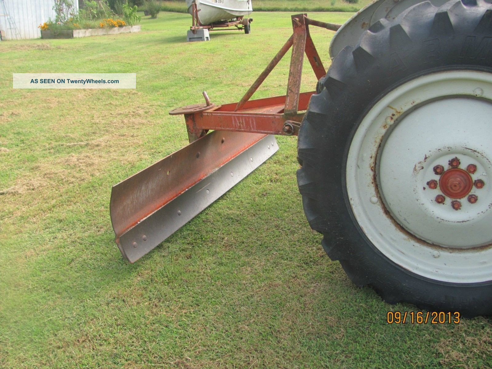 ford  tractor  model   ft dresser mower