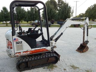 Bobcat 322 Mini Excavator photo
