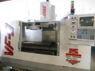 Haas Vf3 Cnc Vertical Machining Center photo