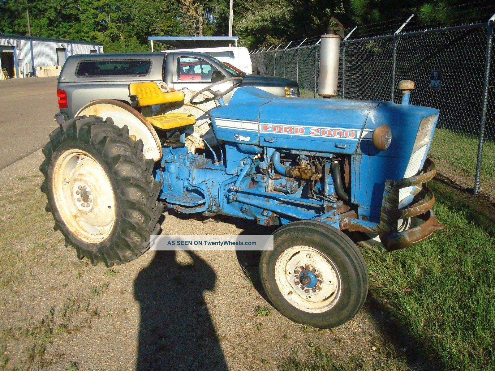 2000 Ford Tractor Information : Ford gas tractor very