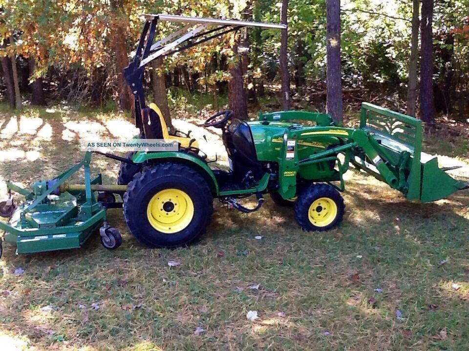John Deere Bucket Attachments : John deere wd tractor loader attachments