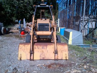 Case 580l Backhoe Loader Includes 4 Buckets photo
